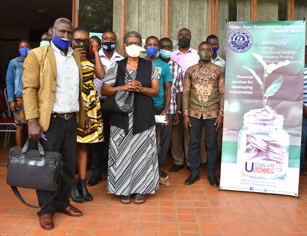 Participants of the 1st USSIA Members' SACCO Annual General Meeting (AGM).