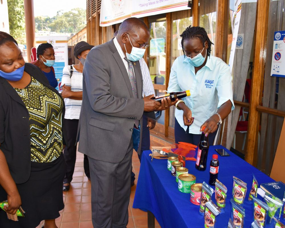 Uganda Small Scale Industries Association (USSIA) provides access to market through Exhibitions